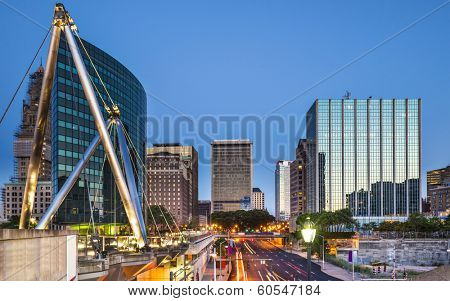 Hartford, Connecticut, USA skyline.