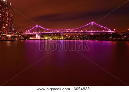 The Story Bridge in Brisbane, Queensland