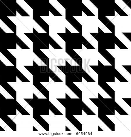 seamless modern houndstooth pattern