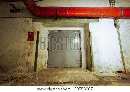 The Elevator Doors Closed