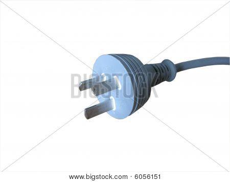 Three pin electrical plug