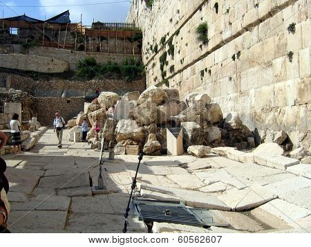 Ruins Of The Second Temple.