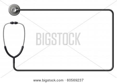 Stethoscope As Frame