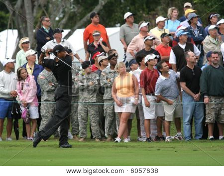Tiger Woods at WGC Doral, Miami, march 2007