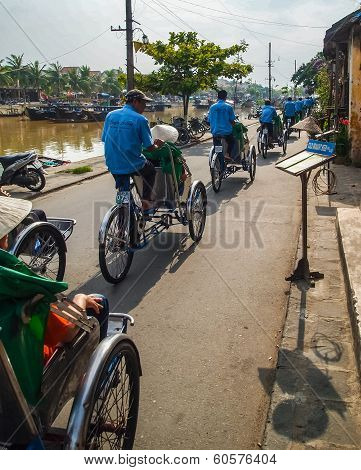 Cyclo tour of Hoi An Vietnam