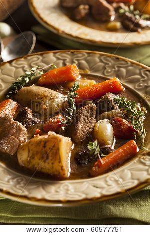Homemade Irish Beef Stew