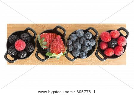 Healthy Juicy Autumn Or Fall Berries