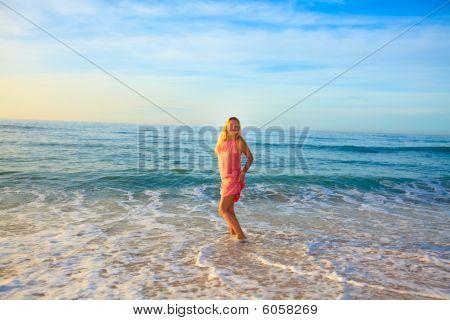 Sunrise Woman
