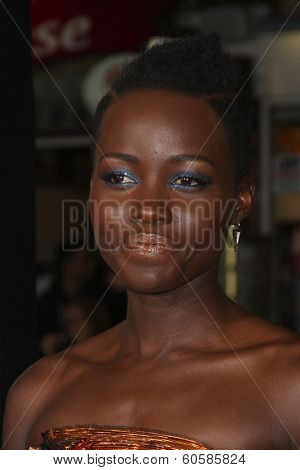 LOS ANGELES - FEB 24:  Lupita Nyong'o at the