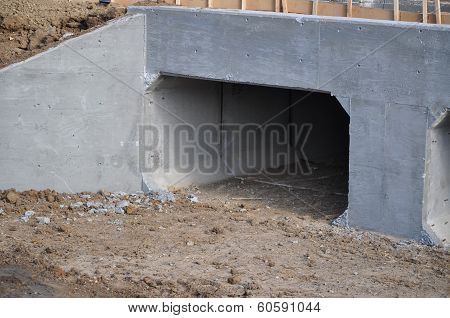 New Concrete Storm Drain