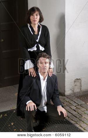 Alter Mann und Frau