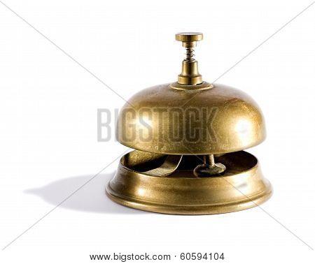 Vintage Brass Service Bell