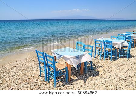 Greek Tavern By The Sea