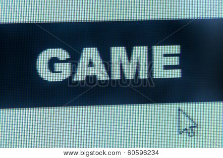 Game Word And Cursor