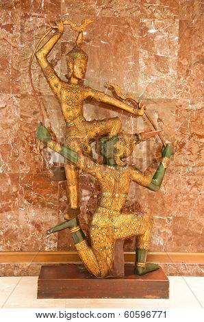 Ramayana Statue