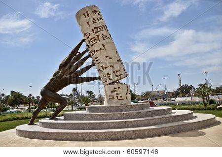 Statue save Iraqi culture