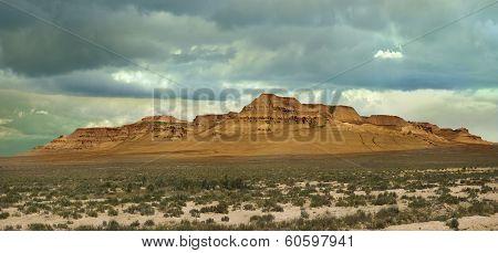 Hill Plateau Ustyurt
