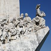 Memorial For The Discoverers In Lisbon Portugal