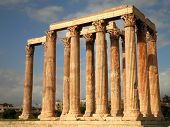foto of olympian  - The ruins of the Temple of Olympian Zeus - JPG