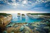 stock photo of 12 apostles  - Loch Ard Gorge - JPG