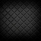 image of ironworker  - black metal grid background - JPG