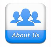 About us button our business or working team members icon