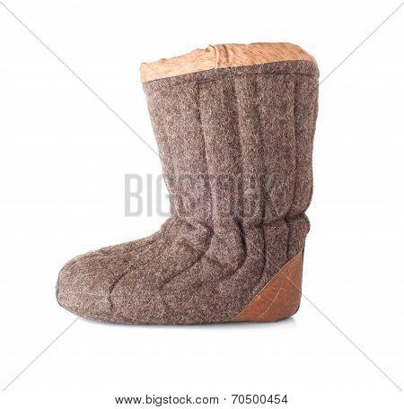 Single Winter Boot