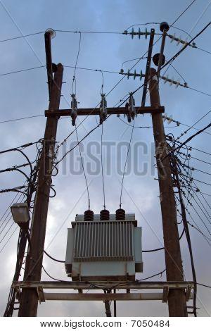 Electricity Transformer.