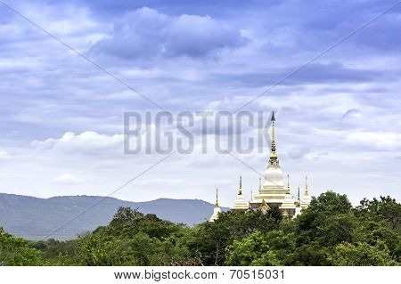 Pagodas And Forests