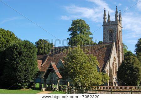 Saint Nicholas Church in Chawton, Hampshire