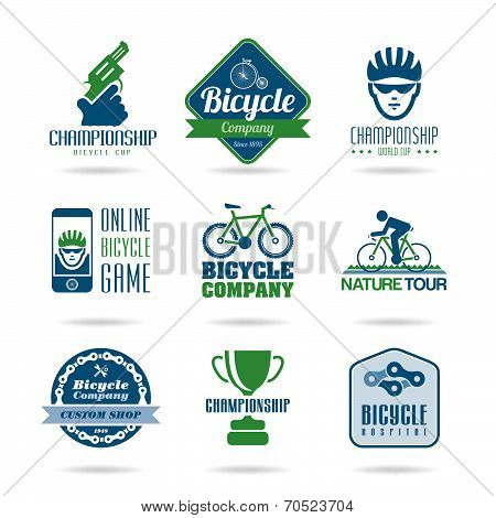 Bicycle icon set - 3