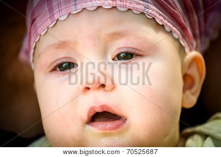 Tears - crying baby