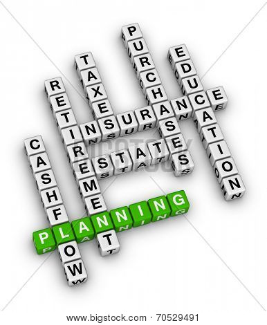 personal financial planning crossword puzzle