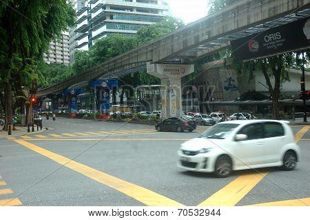 Kuala Lumpur road traffic