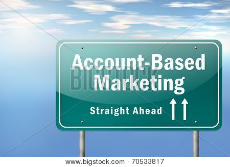 Highway Signpost Account-based Marketing