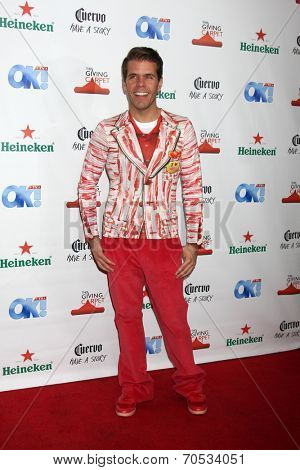 LOS ANGELES - AUG 21:  Perez Hilton, aka  Mario Armando Lavandeira, Jr. at the OK! TV Awards Party at Sofiitel L.A. on August 21, 2014 in West Hollywood, CA