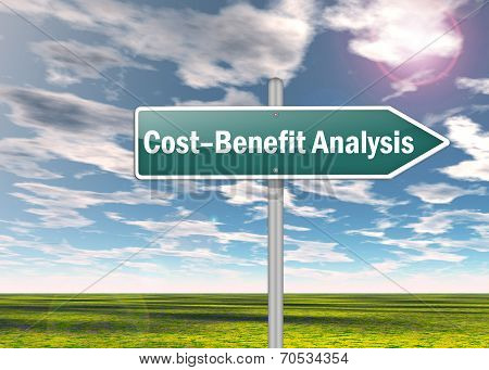 Signpost Cost-benefit Analysis
