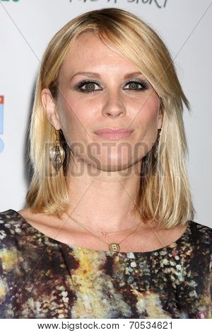 LOS ANGELES - AUG 21:  Bonnie Somerville at the OK! TV Awards Party at Sofiitel L.A. on August 21, 2014 in West Hollywood, CA