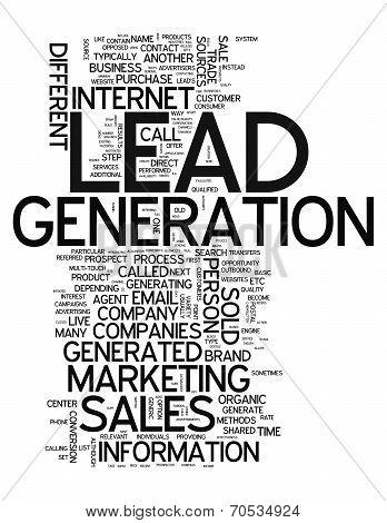 Word Cloud Lead Generation