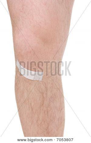 männlich Knie