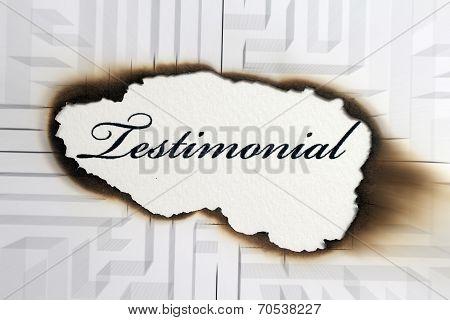 Testimonial Concept