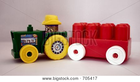 Toy Farm Tractor And Trailer