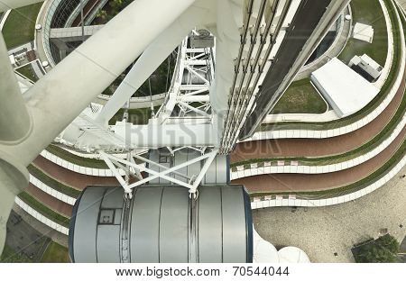 Singapore Flyer's Base View
