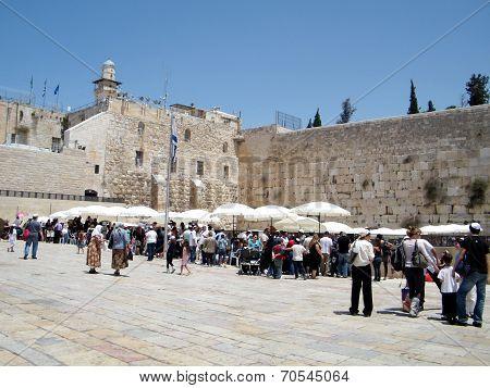 Jerusalem Western Wall 2010