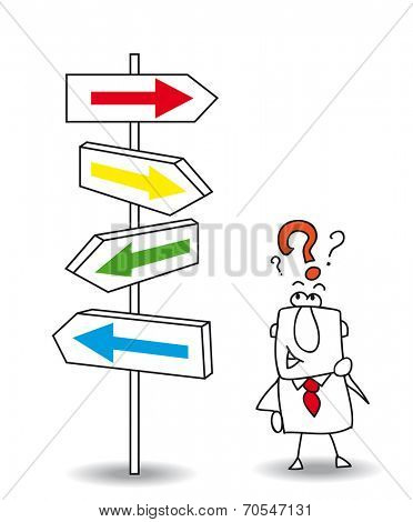 which direction. Joe wants to find a solution. you walk your way Joe, it's your choice