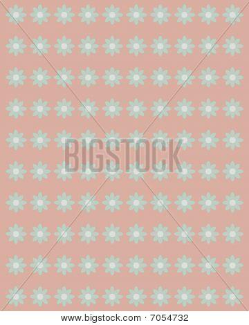 Victorian floral scrapbook background