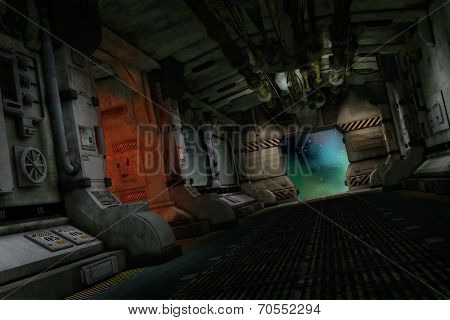 The Transporter Ship, 3D Cg