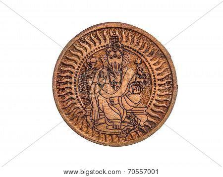 Carving Ganesha
