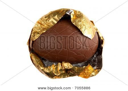 Partially Unwrapped  Easter Egg