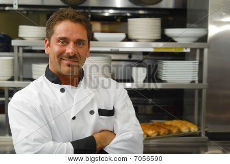 lächelnd baker